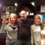 Photo avec Romain et Laure (à droite)