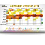 Calendario stagione 2015 - Miragica
