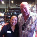Dane enjoying Australian hospitality at it's best!