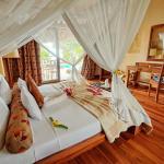 Bedroom in Ocean-view villa