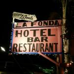 La Fonda Hotel Sign