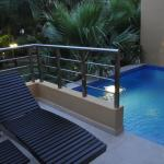 Our deck and pool