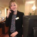 Sweet Receptionist Dorota