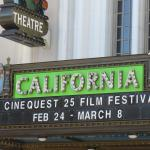 Cinequest Festival, California Theater, San Jose, Ca