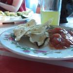 Enchilada at Comedor San Miguel