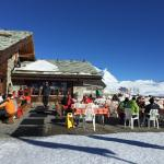 Restaurant at the top: Rothorn Paradise