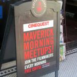 Caffe Frascati and Meet the Filmmakers during Cinequest, San Jose, Ca