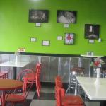 Indoor seating and decor