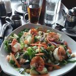 Citrus Shrimp Salad at The Vine