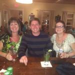 Dinner at the bar at Marek's