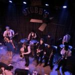 The Bare Feat on stage rockin sold out Stubb's