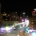 View of Granville St @ night