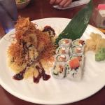 Mister sushi - special roll - crunchy and Philadelphia roll