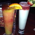 Try either one of these drinks!!! Tasted amazing. Bahama mama or the sunset passion colada.