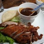 Peking Duck..delicious and amply served for 23CHF