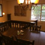 Well-decorated dinning room