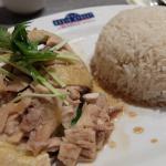 Hainanese chicken rice(海南鶏飯)