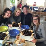 Grazie mille ottimo pranzo ottimo pesce e ottimo il nostro cameriere preferito Ferruccio e la br