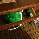 Desk drawer?