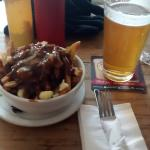 Beer and Poutine