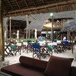 Dinner beach area