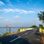 Road to Sriharikota(Pulicat Bird Sanctuary)