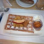 European style waffles