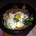 Cho Sun favorite Dolsot Bibimbop with chicken