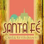 Logo de Santa Fe Café & Restaurante.  Zona Gastronómica La Macarena Bogotá