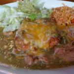 Chile relleno plate