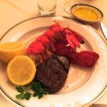 Steak and Lobster ....