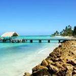 Pigeon Point Beach and jetty, Tobago
