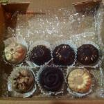 Assorted chocolates from Chocolateria Isla Bella