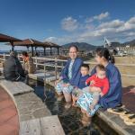 日本一の足湯に一番近い宿です