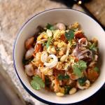 Seafood Bhel