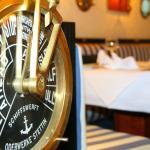 Dekoelement vom Hotelrestaurant