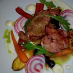 Lamb for lamb lovers.... . Great tasting dish with usual refinements as expected...