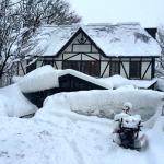 Hakuba House Jan 2015, a LOT of snow!