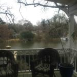 View of the Cane from the back porch