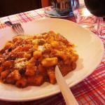 Gnocchi with ragu' di cinghiale