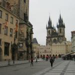 Piazza della Città Vecchia (Staromestske Namesti). Praga.