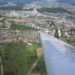 Rheinfelden von oben