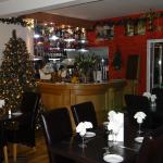 Quackers Restaurant at Christmas time