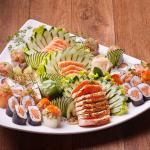 Combinado especial de salmão
