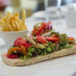 Baraza Vegetable Open Sandwich