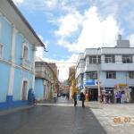Vista desde el Parque El Pino de Puno (a 3 cuadras del Hotel)