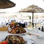 stuffed cuttlefish and ''caretta caretta'' salad