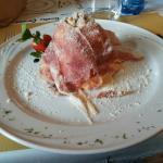 Tagliolini con San Daniele e noci