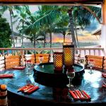 Ocean and Sunset view Dining in Grill