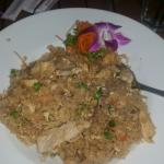 Amazing fried rice with all meats so delicious and fresh. A must try, esp if you can't decide wh